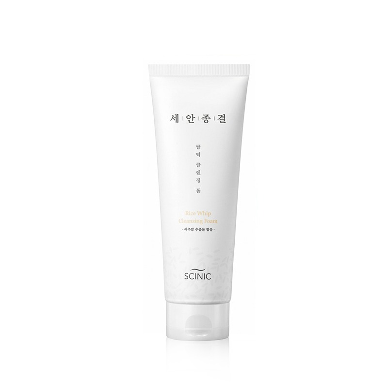 Own label brand, [SCINIC] Rice Whip Cleansing Foam 220ml (Weight : 273g)