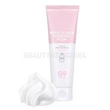 Own label brand, [G9SKIN] White In Milk Whipping Foam 120ml (Weight : 162g)