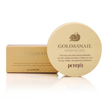Own label brand, [PETITFEE] Gold & Snail Hydrogel Eye Patch 1.4g * 60pcs (Weight : 189g)