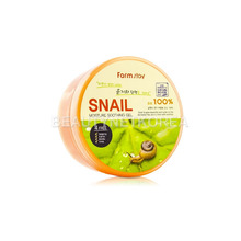Own label brand, [FARM STAY] Moisture Soothing Gel [Snail] 300ml (Weight : 386g)