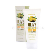 Own label brand, [FARM STAY] Olive Intensive Moisture Foam Cleanser 100ml (Weight : 137g)