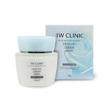 Own label brand, [3W CLINIC] Excellent Cream White 50g(Weight : 217g)