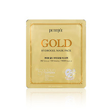 Own label brand, [PETITFEE] Gold Hydrogel Mask Pack 32g (Weight : 55g)