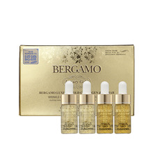 Own label brand, [BERGAMO] Luxury Gold Collagen Ampoule Set 13ml * 4ea   (Weight : 166g)
