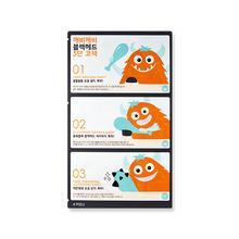 Own label brand, [A'PIEU] Goblin Blackhead 3-Step Nose Pack 3 Sheet (Weight : 12g)