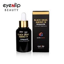 Own label brand, [EYENLIP] Black Snail Amino 14 Ampoule 30ml (Weight : 71g)