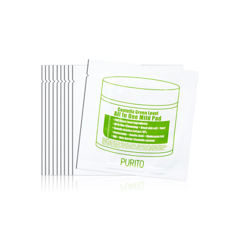 Own label brand, [PURITO] Centella Green Level All In One Mild Pad 4.5ml * 10ea (Weight : 84g)