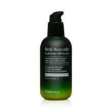 Own label brand, [FARM STAY] Real Avocado Nutrition Oil Serum 100ml (Weight : 155g)