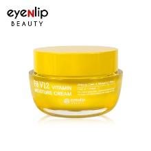 Own label brand, [EYENLIP] F8 V12 Vitamin Moisture Cream 50g (Weight : 182g)