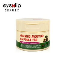 Own label brand, [EYENLIP] Morning Avocado Ampoule Pad 120ml / 100 Pads (Weight : 235g)