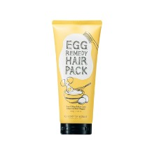 Own label brand, [TOO COOL FOR SCHOOL] Egg Remedy Hair Pack 200g (Weight : 245g)