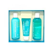 Own label brand, [FARM STAY] Hyaluronic Acid Super Aqua Skin Care 3 Set (Weight : 785g)