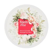 Own label brand, [FARM STAY] Rose & Ceramide Hydrogel Eye Patch 90g (Weight : 194g)