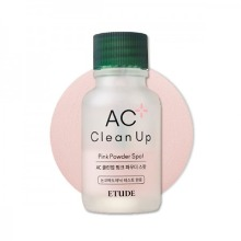Own label brand, [ETUDE HOUSE] AC Clean Up Pink Powder Spot 15ml 2020 Renewal (Weight : 82g)