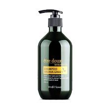 Own label brand, [MEDI FLOWER] Etre Doux Aroma Green Shampoo 500ml (Weight : 610g)