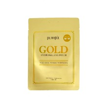 Own label brand, [PETITFEE] Gold Hydrogel Eye Patch 2pcs (Weight : 13g)