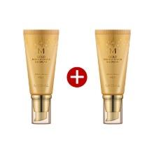 Own label brand, [MISSHA] [1+1] M Gold Perfect Cover B.B Cream (SPF42/PA+++) #21 Light Beige 50ml (Weight : 190g)