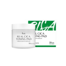 Own label brand, [PRRETI] Real Cica Toning Pad 110g (50pads) (Weight : 32g)