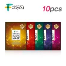 Own label brand, [FABYOU] Botanical Healing Mask 23ml * 10pcs 5 Type (Weight : 341g)