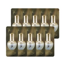 Own label brand, [WHOO] Cheongidan Radiant Regenerating Gold Concentrate * 10pcs [Sample] (Weight : 19g)