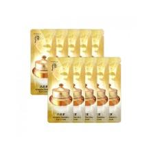 Own label brand, [WHOO] Gongjinhyang Intensive Nutritive Eye Cream * 10pcs [Sample] (Weight : 20g)