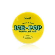 Own label brand, [KOELF] Lemon & Basil Ice-Pop Hydrogel Eye Mask 84g (Weight : 187g)