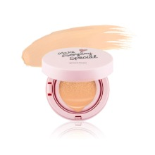 Own label brand, [WITCH'S POUCH] Moisturize Cover pink Cushion 15g 2 Color (Weight : 84g)