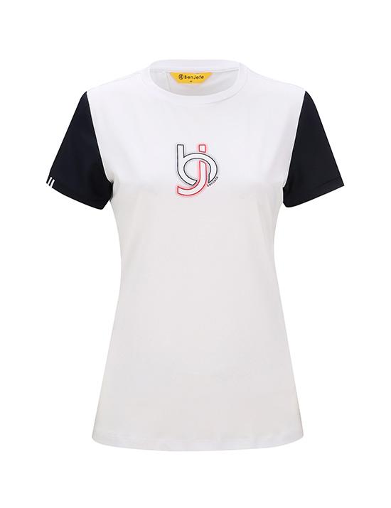 BJ 포인트 라운드티셔츠
