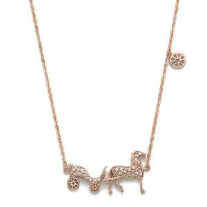 GN-099 - TATIAS, 14K & 18K Gold Pendant Necklace