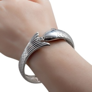 SB-419 (Peter Fish Silver Bracelet Special Edition) - TATIAS, Peter Fish Silver Bracelet
