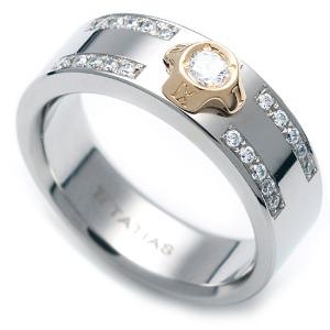 TW-633 DIA - 타티아스 (TATIAS), 다이아몬드 티타늄 반지