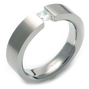 TW-012 DIA - 타티아스 (TATIAS), 다이아몬드 티타늄 반지