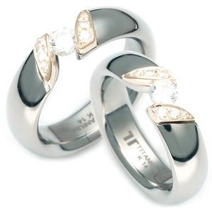 TQ-920 DIA CO - TATIAS, 钛金情侣戒指