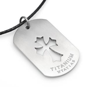 TSP-515 - TATIAS, Titanium Pendant Necklace