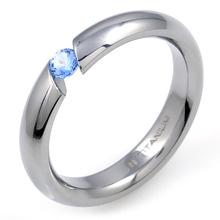 T-389 DIA - TATIAS, 带钻石的钛金戒指
