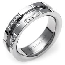 T-372 - TATIAS, Titanium Ring
