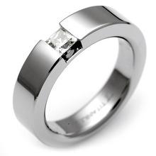 T-365 DIA - 타티아스 (TATIAS), 다이아몬드 티타늄 반지