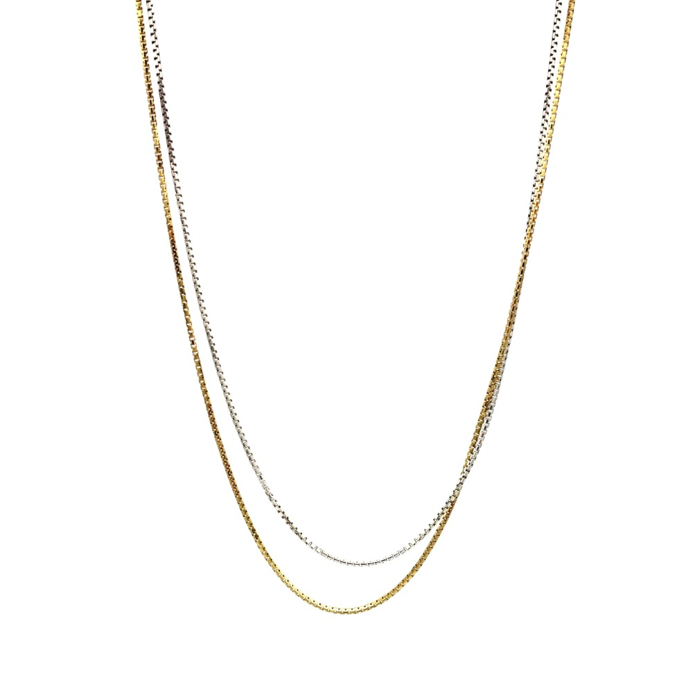 Octagon Chain Necklace