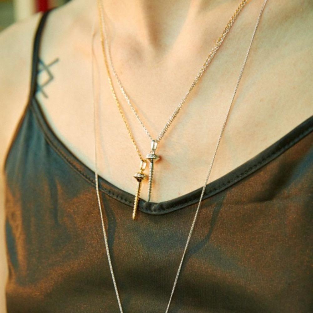 Mini Nail Necklace