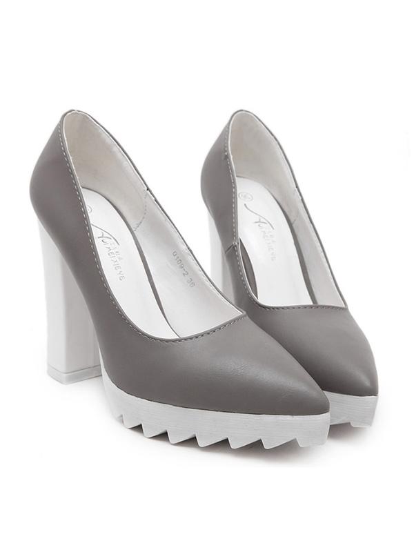 (SALE) Chunky Platform Heel