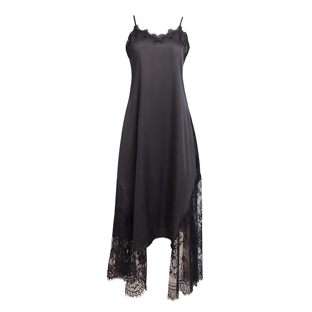 Lace Slip Maxi Dress