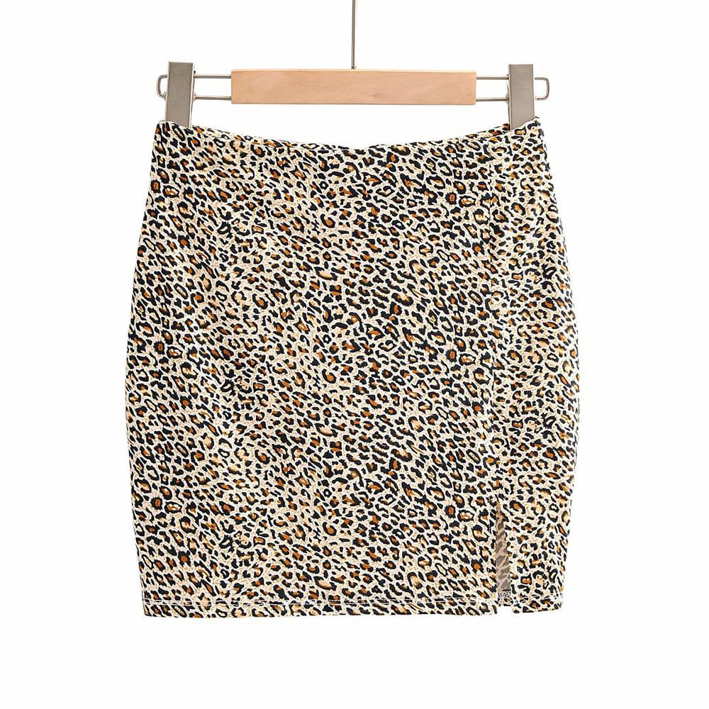 (SALE) Wild Mini Skirt (당일발송가능)