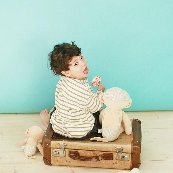 Bless Nature, [오가닉 애착인형] 아기 원숭이 키키