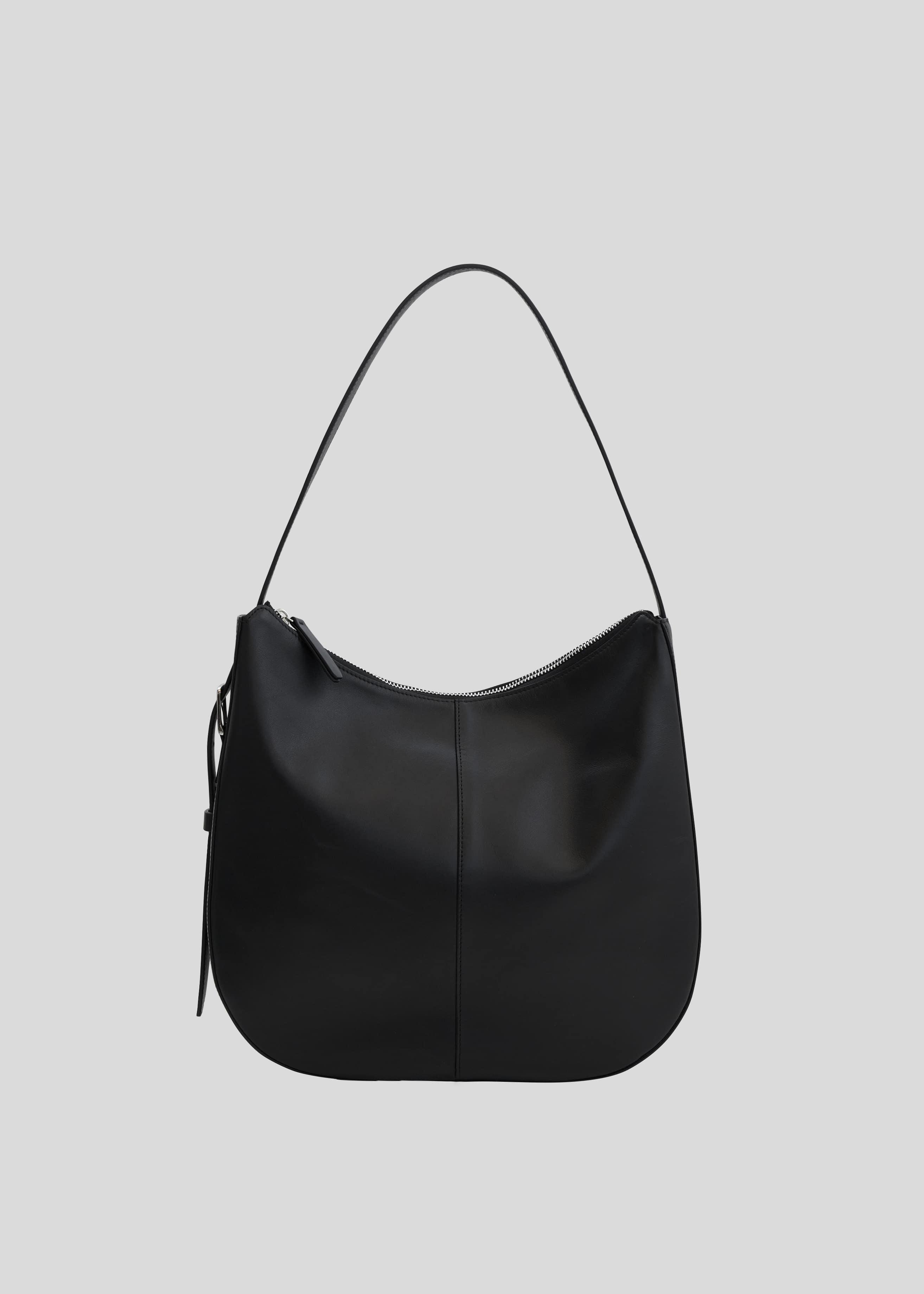 블루브릭,Buckle hobo bag (black)