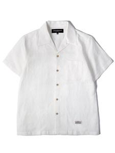 50S LINEN SHIRT SS [WHITE]