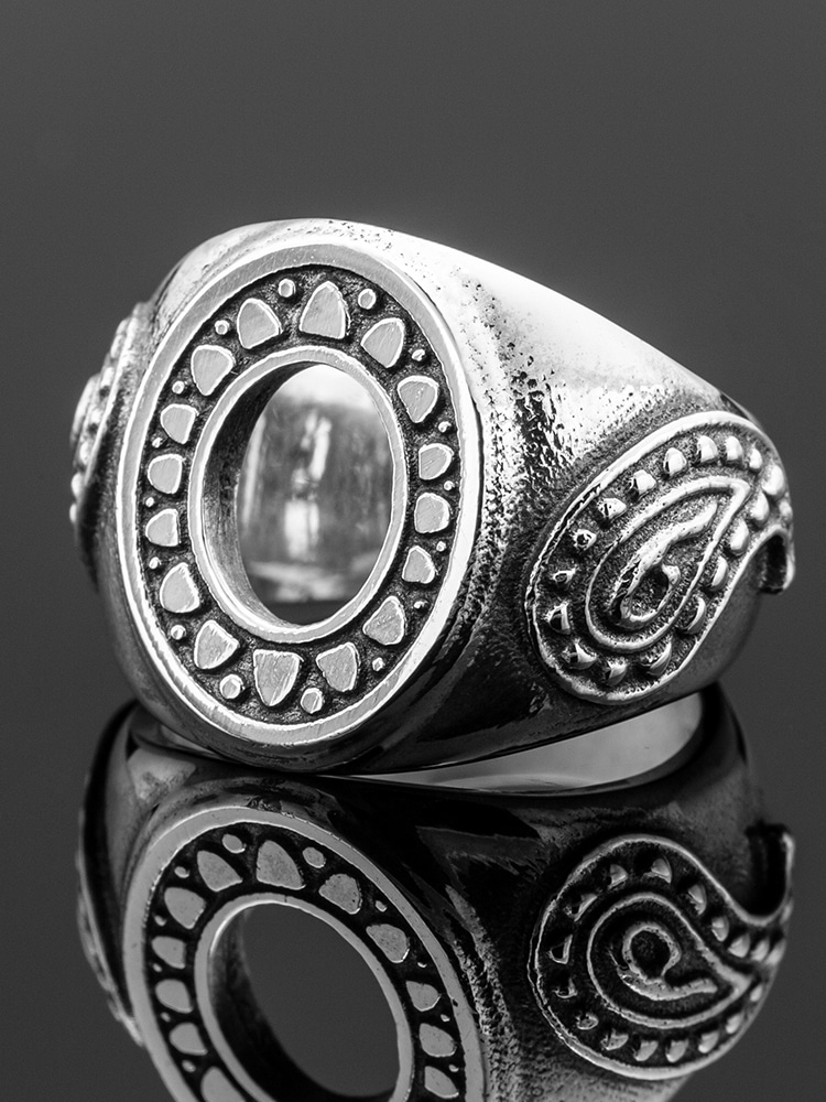 PAISLEY OVAL RING