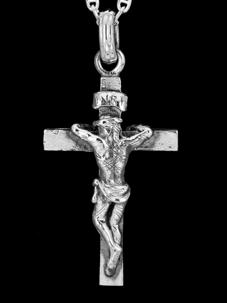 JESUS BACK KROSS PENDANT