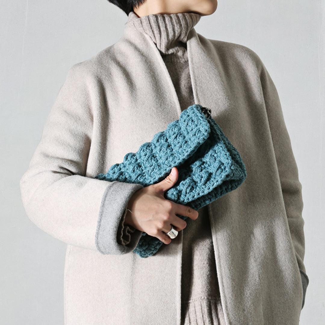 [DIY] Puff Stitch Clutch Bag / 션라이트얀 5mm