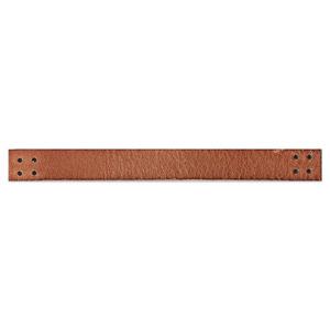 가죽 스트랩 브라운 (13cm)