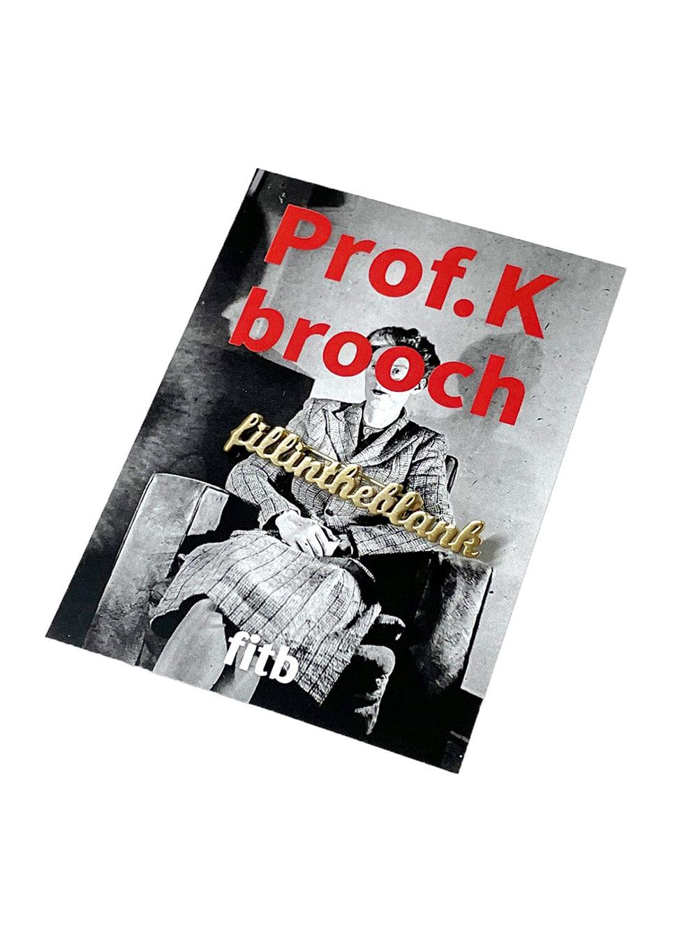 Logo Pin Brooch